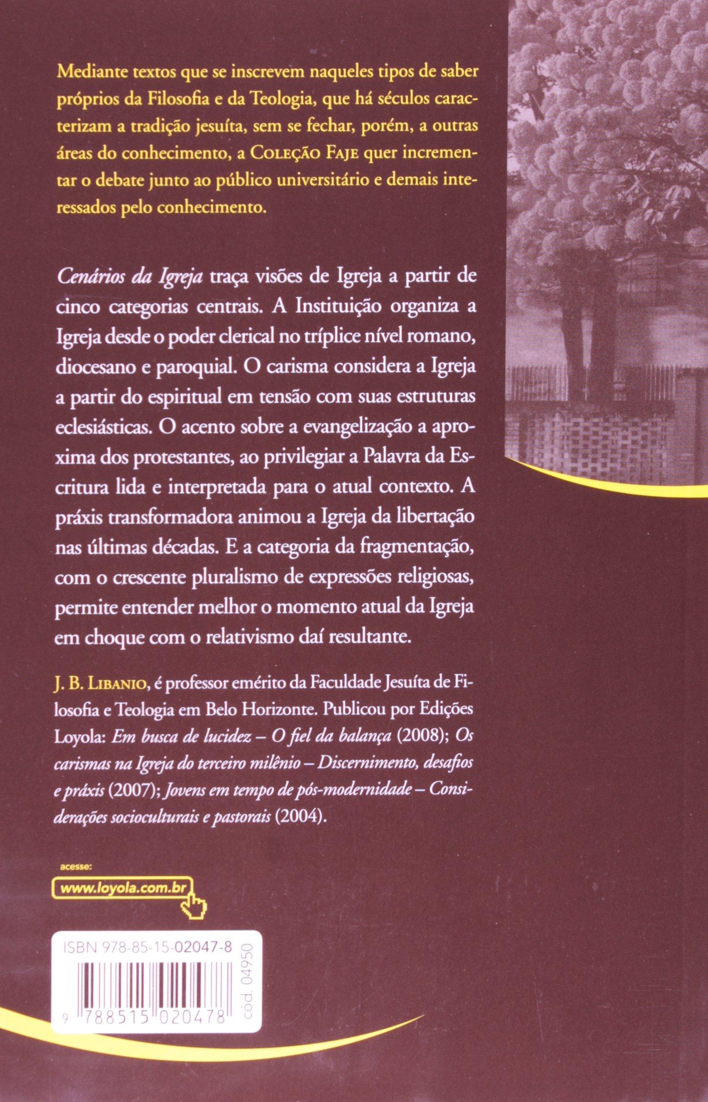 6240eb473 Cenários da Igreja - 9788515020478 - Livros na Amazon Brasil