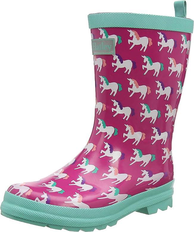 Botas de Agua para Ni/ñas Hatley Printed Wellington Rain Boots