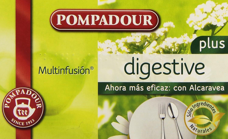 Pompadour Infusion Digestive Plus - 20 Bolsitas: Amazon.es: Amazon Pantry