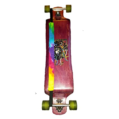 Tie Dye Long Board Carrying Strap Hands Free Back Sling : Sports & Outdoors