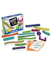Learning Resources LER2821 Tumble Trax Magnetic Marble Run Toy