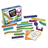 Learning Resources Tumble Trax Magnetic Marble Run, STEM Toy, 28 Piece Set, Ages