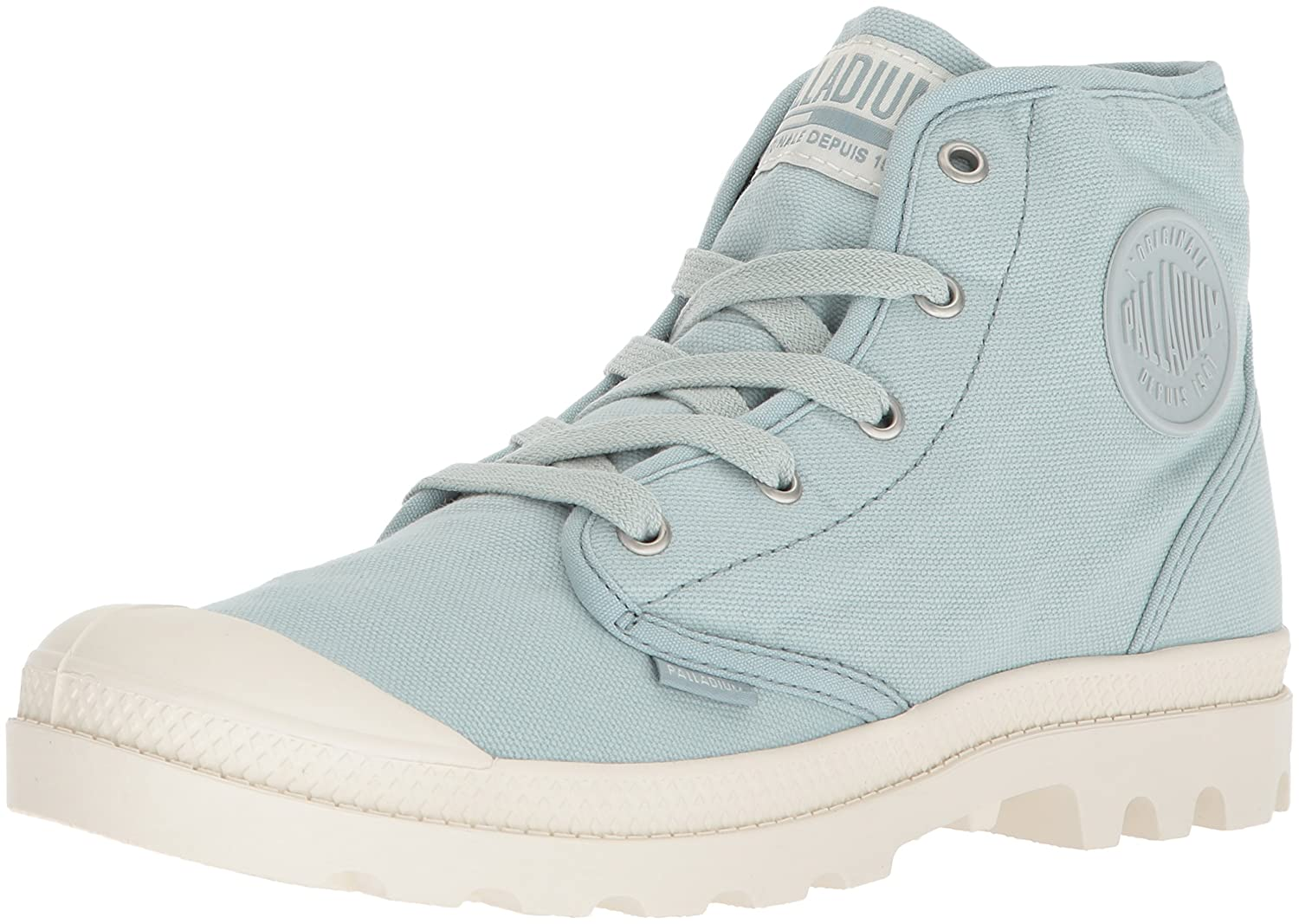 Palladium Women's Pampa Hi Ankle Boot B074B3ZQDS 9 B(M) US|Grey