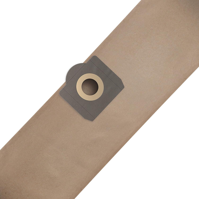 ✧WESSPER/® Bolsas de aspiradora para Rowenta ZR 814 3 piezas, papel
