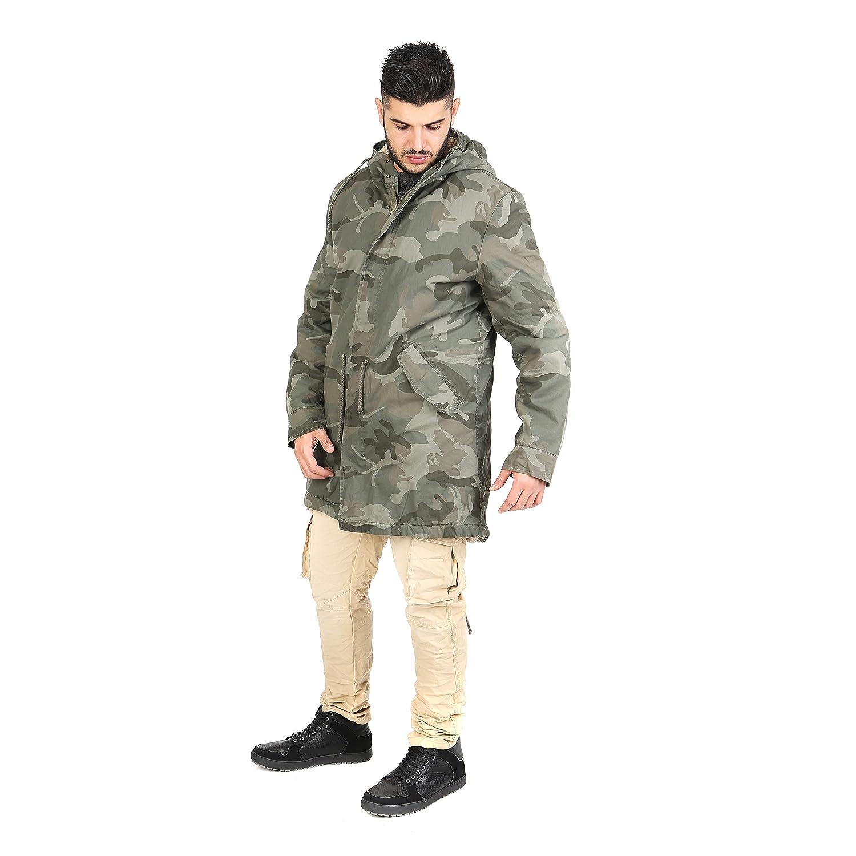 AFF Parka Men with Camouflage Military Fantasy - AFU382: Amazon.co.uk:  Clothing