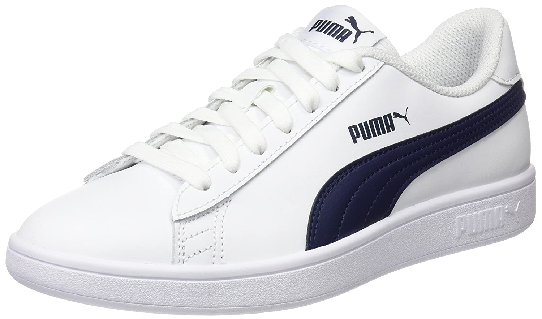 Buy Puma Men's Smash v2 L White-Peacoat