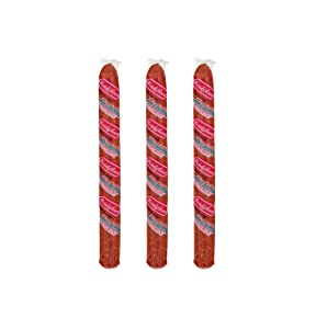 Bridgford Old World Pepperoni Stick, Made in the USA, 16oz, Pack of 3