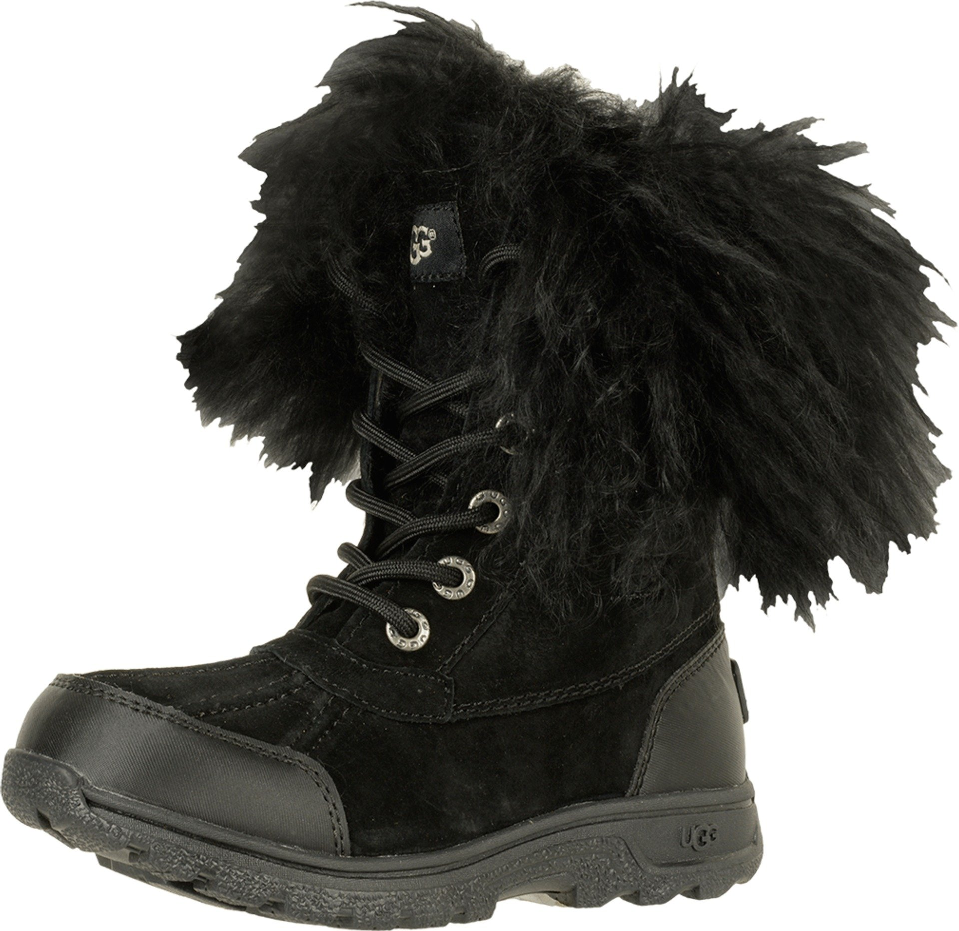 11594c02ba1 UGG Big Kids Butte II Fluff Boot Black Size 6 Big Kid M