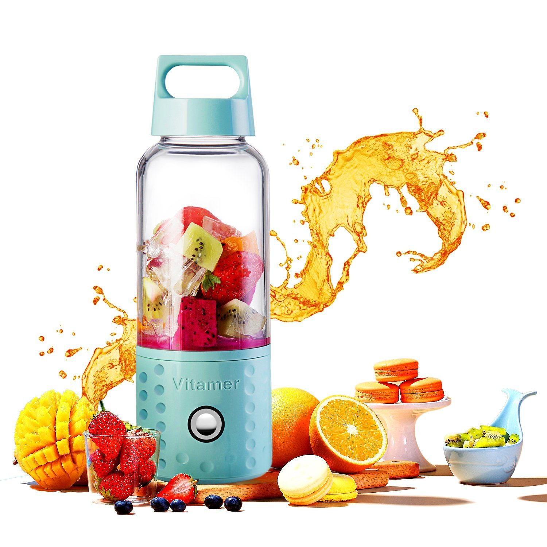 Portable Blender,Portable Rechargeable Juice Blender