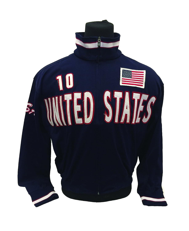 Medium and Large USA Navy Jacket For Adults United States Track Jacket
