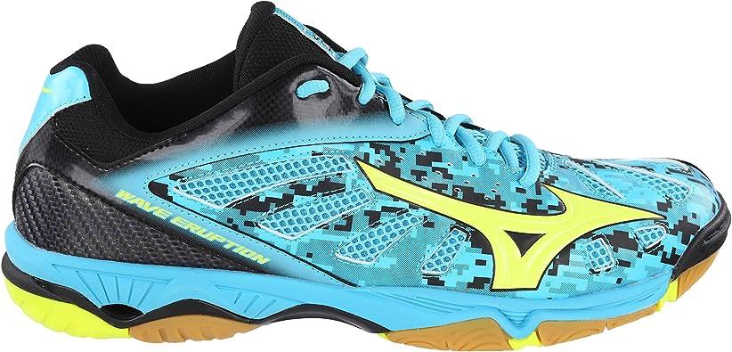 Mizuno Wave Eruption Chaussures de handball pour homme, Bleu