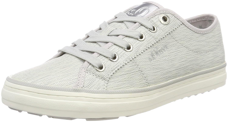 s.Oliver 23640, Zapatillas para Mujer 36 EU|Gris (Lt Grey/Silver)