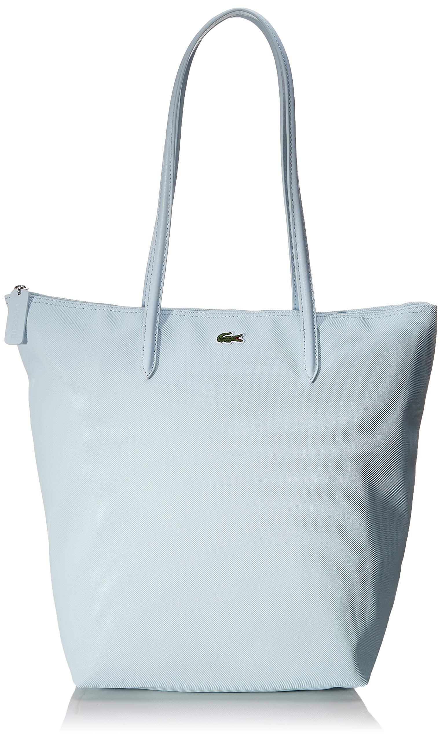 Lacoste - L.12.12 Concept, Shoppers y bolsos de hombro Mujer, Azul (Illusion Blue), 15.5x35x25.5 cm (W x H L)