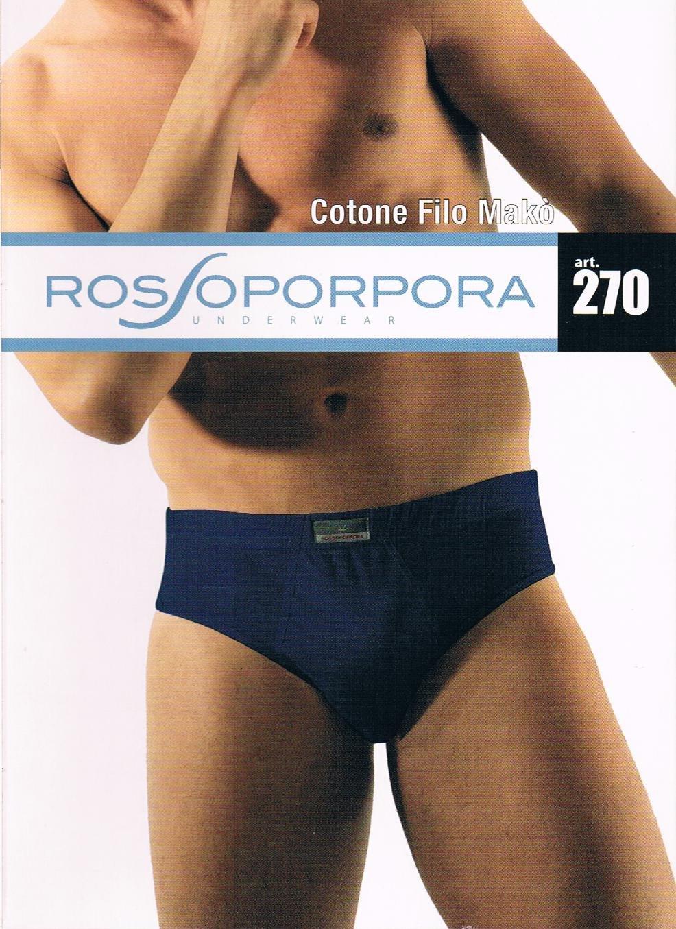 6 Slip Rossoporpora cotone filo Mak/ò 5 Taglia Scuri