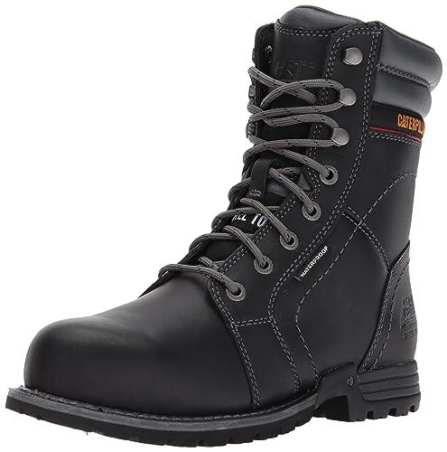a953f9eff18 Caterpillar Women's Echo Waterproof ST/Black Industrial and Construction  Shoe