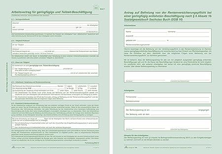 Rnk 518 Arbeitsbestätigungen Und Dienstformulare Arbeitsvertrag 2x2