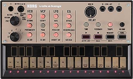 Korg Volca Keys - Sintetizador y caja de ritmos: Amazon.es ...