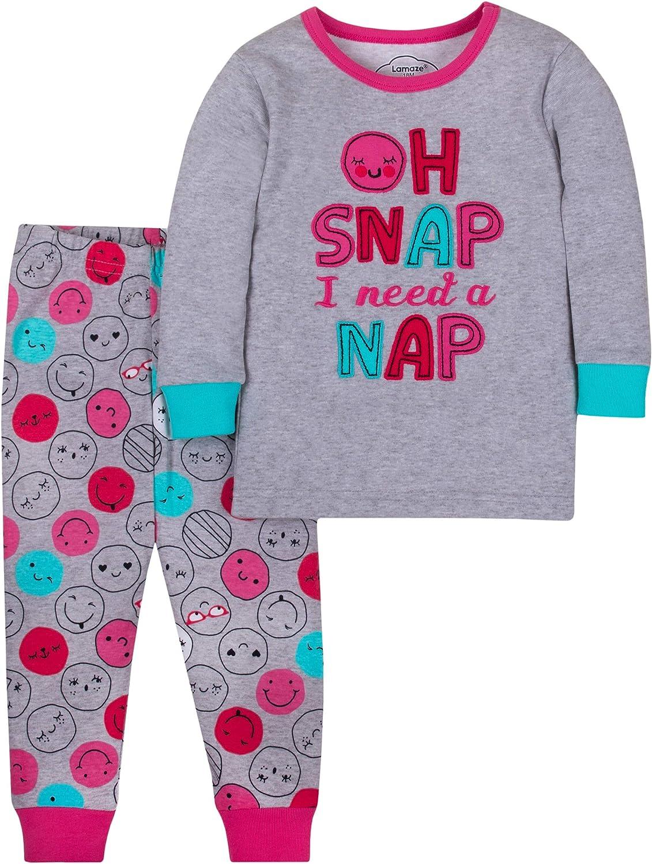 Lamaze Organic Baby Baby Girls Long Sleeve Footless Strechie Pajamas