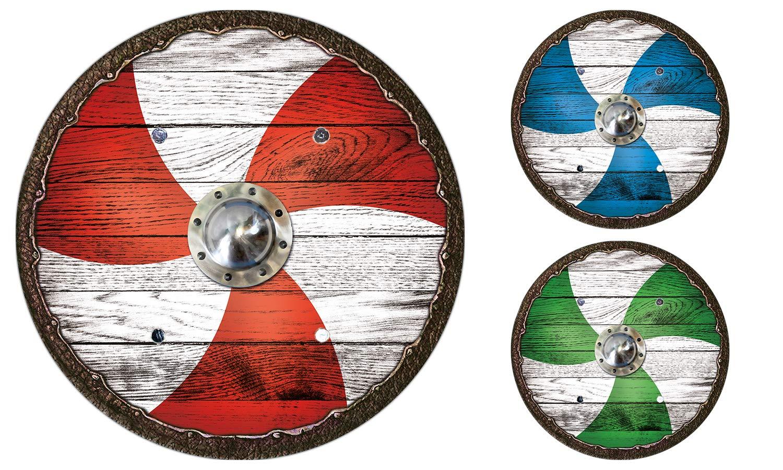 Viking shield sailor green