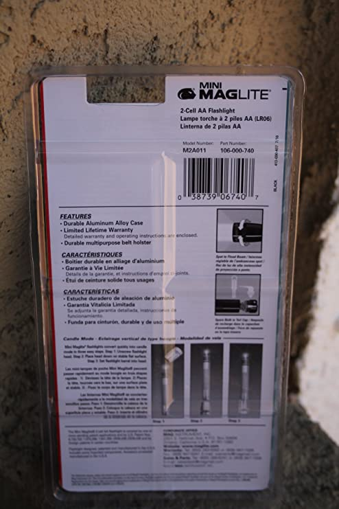 Mini Maglite® Flashlight (Black)