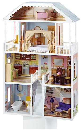 Amazoncom KidKraft Savannah Dollhouse with Furniture Toys Games