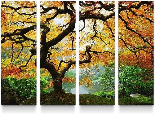 Startonight Canvas Wall Art Amazing Maple