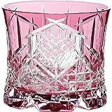 东洋佐佐木玻璃 玻璃杯 270ml 八千代切子 (月华) 日本制造 LS19761SAU-C742 红色 270ml LS19761SAU-C742