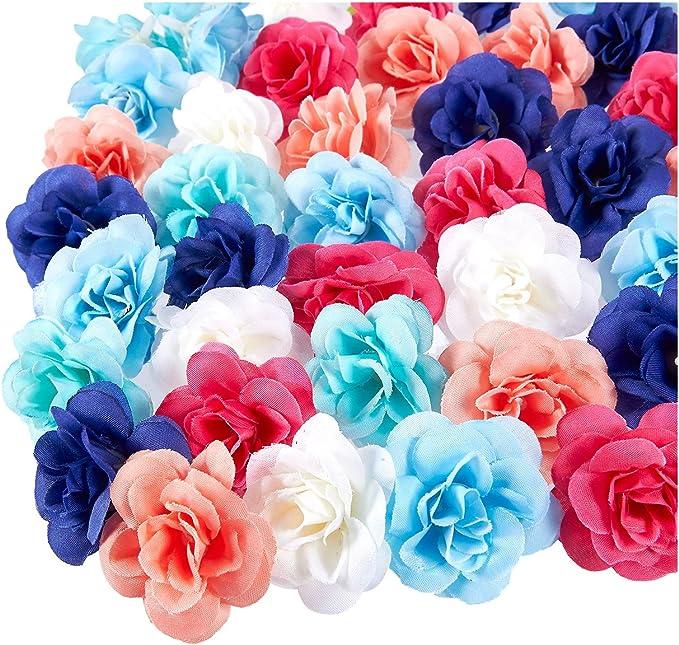 12 Heads Artificial Lavender Fake Silk Flower Bouquet Wedding Party 4 Colors #US