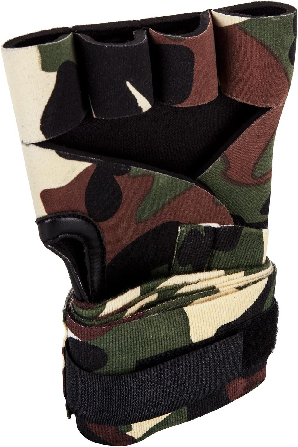 Black Venum Kontact Gel Glove Wraps