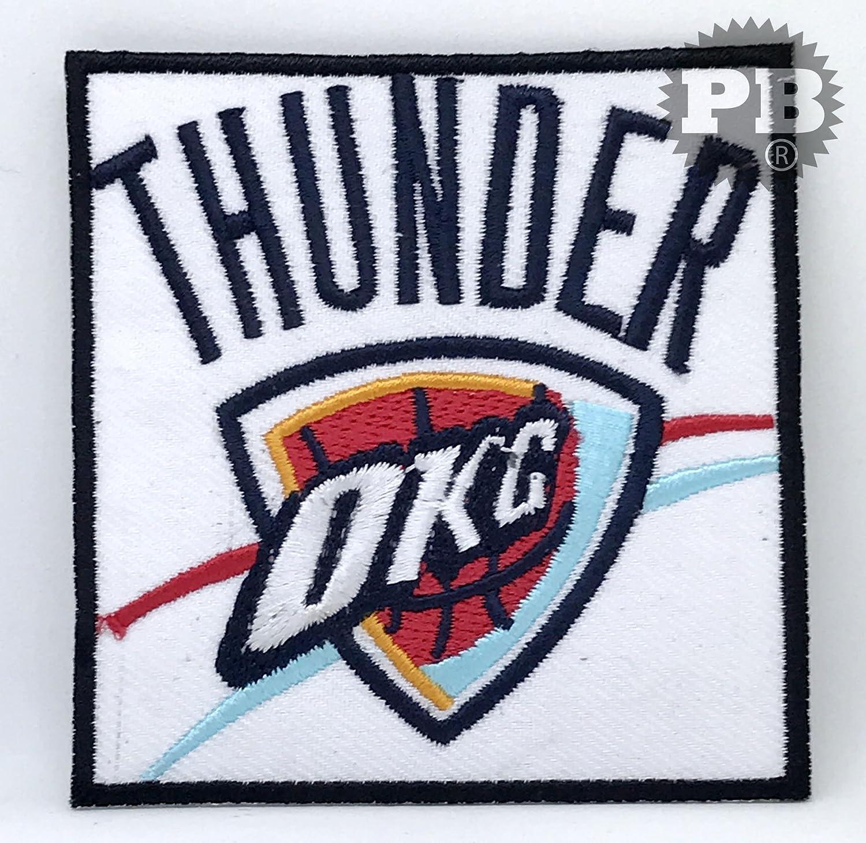 943 NBA Oklahoma Thunder (OKC Baloncesto) hierro Sew en bordado ...