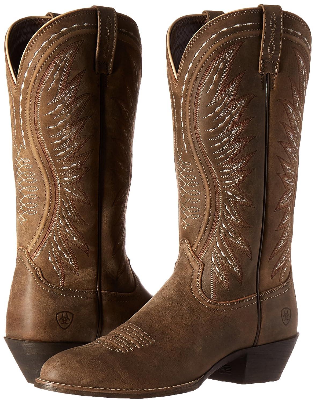 Ariat Women's Ammorette Western Boot B013WSGB68 6.5 B(M) US|Brown Bomber