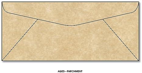 amazon com parchment envelopes scroll tan 10 commercial flap 4 1