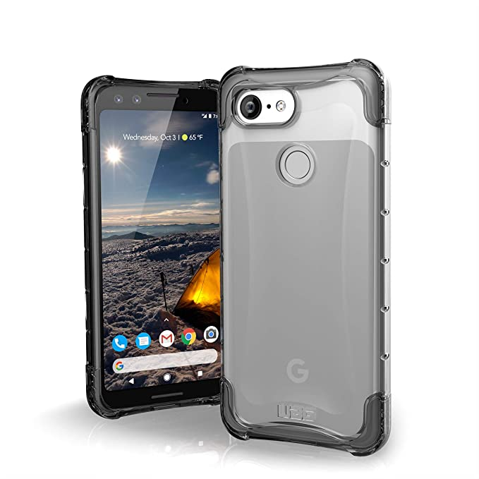 new styles a8970 3d8f4 URBAN ARMOR GEAR UAG Google Pixel 3 [5.5-inch Screen] Plyo Feather-Light  Rugged [Ice] Military Drop Tested Case