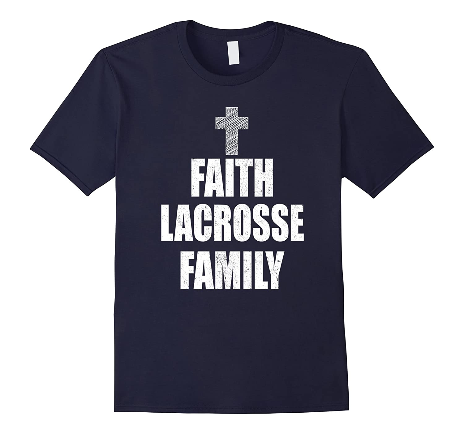 Faith Lacrosse Family T-Shirt-CL