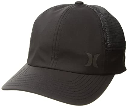 factory price 202aa 6f48d Hurley Layback Hat - Black