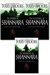 Shannara Chronicles Series Terry Brooks 3 Books Collection Set (The Sword Of Shannara, The Elfstones Of Shannara, The Wishsong Of Shannara) Paperback