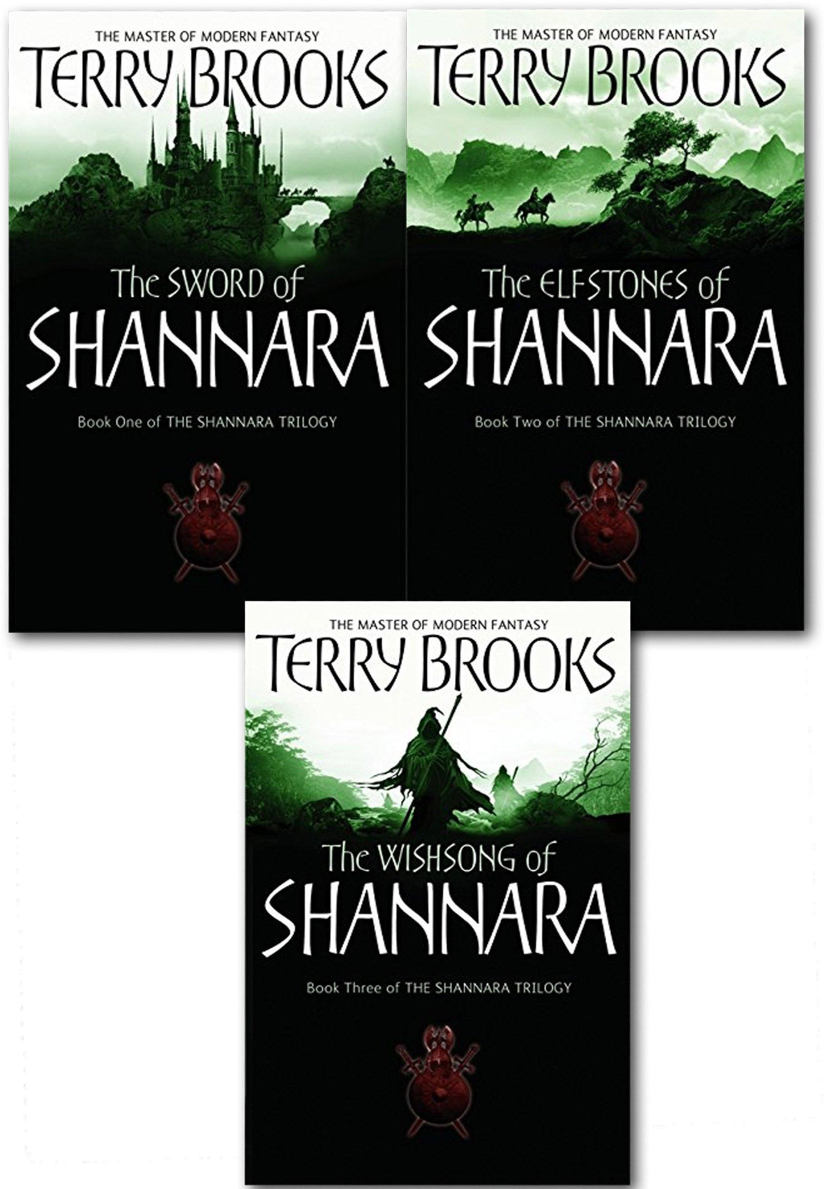 Shannara Chronicles Series Terry Brooks 3 Books Collection Set (The Sword Of Shannara, The Elfstones Of Shannara, The Wishsong Of Shannara) PDF