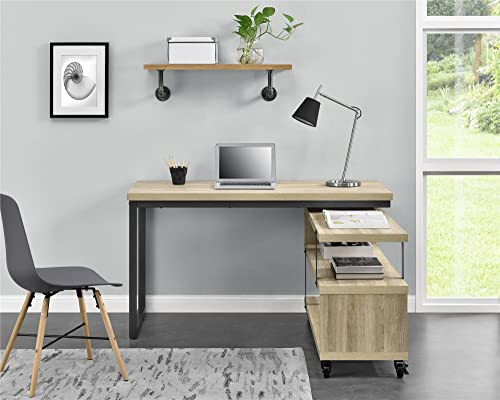 Ameriwood Home Ryker L-Shaped Swivel Desk