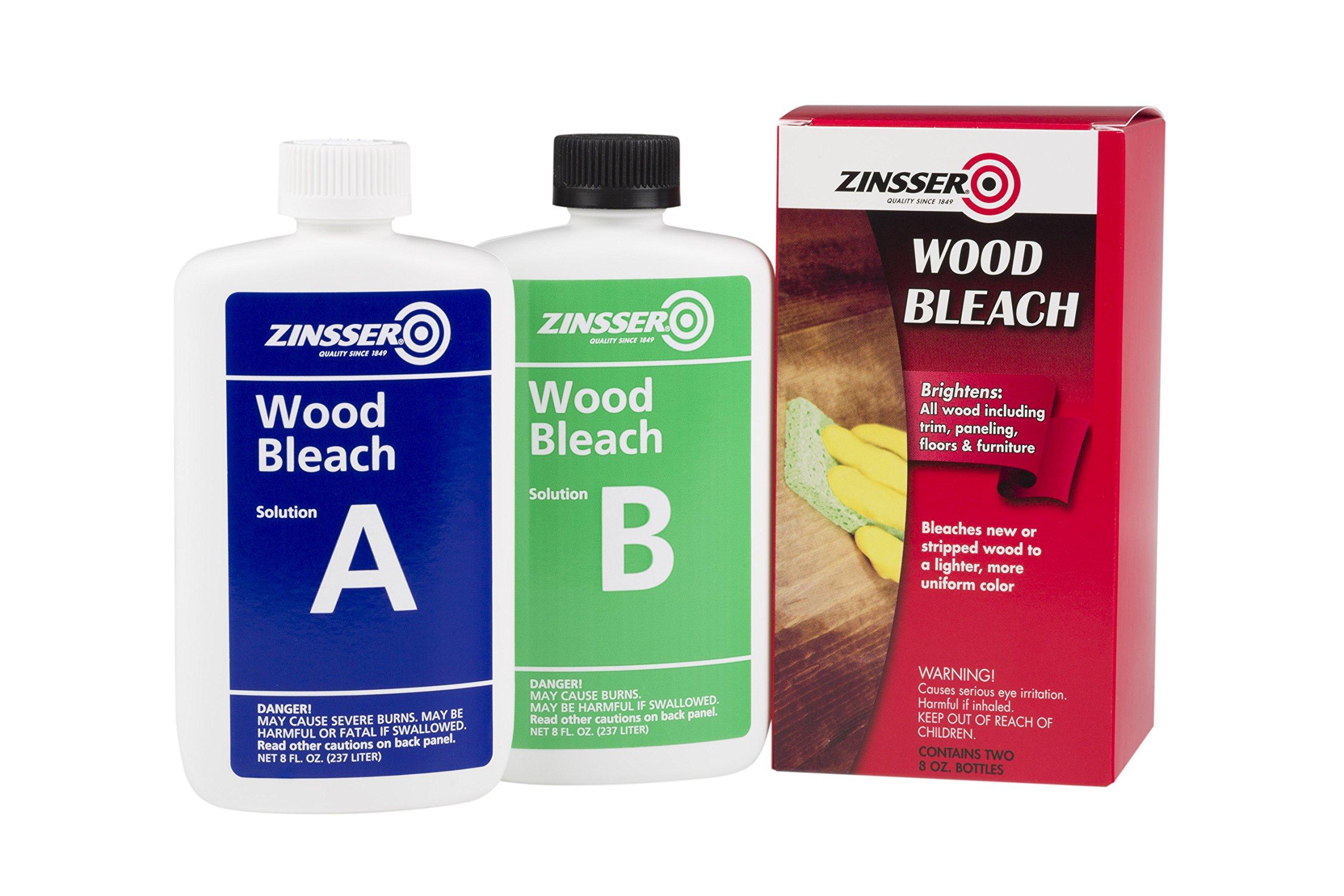 Zinsser 300451 Wood Bleach, 8 oz by Zinsser