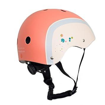 Naranja Minimalista® - Cascos de deporte para niños y bolsa de viaje, certificado de