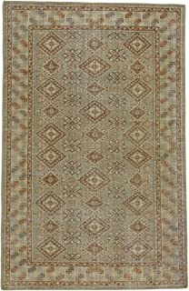 product image for Caria Fawn Persimmon 8' x 10' Rectangle Hand Knotted Rug