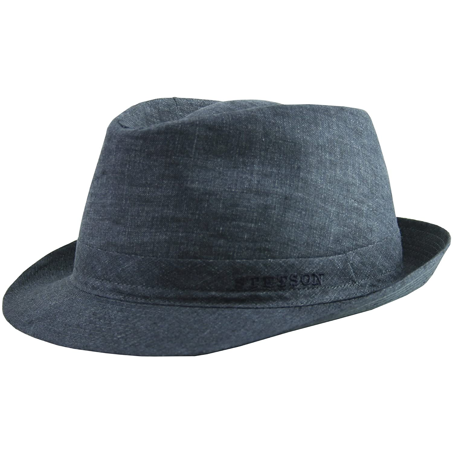 Made in Italy Stetson Geneva Linen Trilby Women//Men