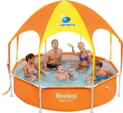 Bestway 56432 - Piscina Desmontable Tubular Infantil Splash-In ...