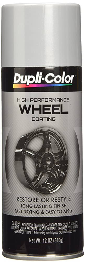 3. Dupli-Color EHWP10107 Silver High-Performance Wheel Paint - 12 oz