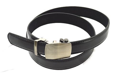 Automático Cinturón con hebilla automática de cinturón 3,7cm hasta 160cm de longitud