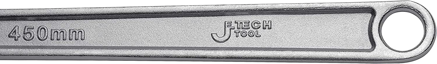 Jetech 15 inch Adjustable Wrench Professional Shifter Spanner with Wide Caliber Opening