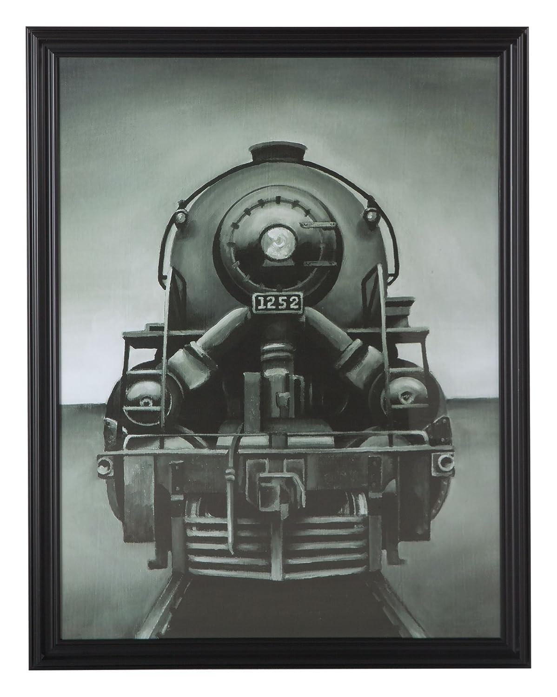 World Interiors Furniture Vintage Locomotive 1252 Print ZWHRAP30