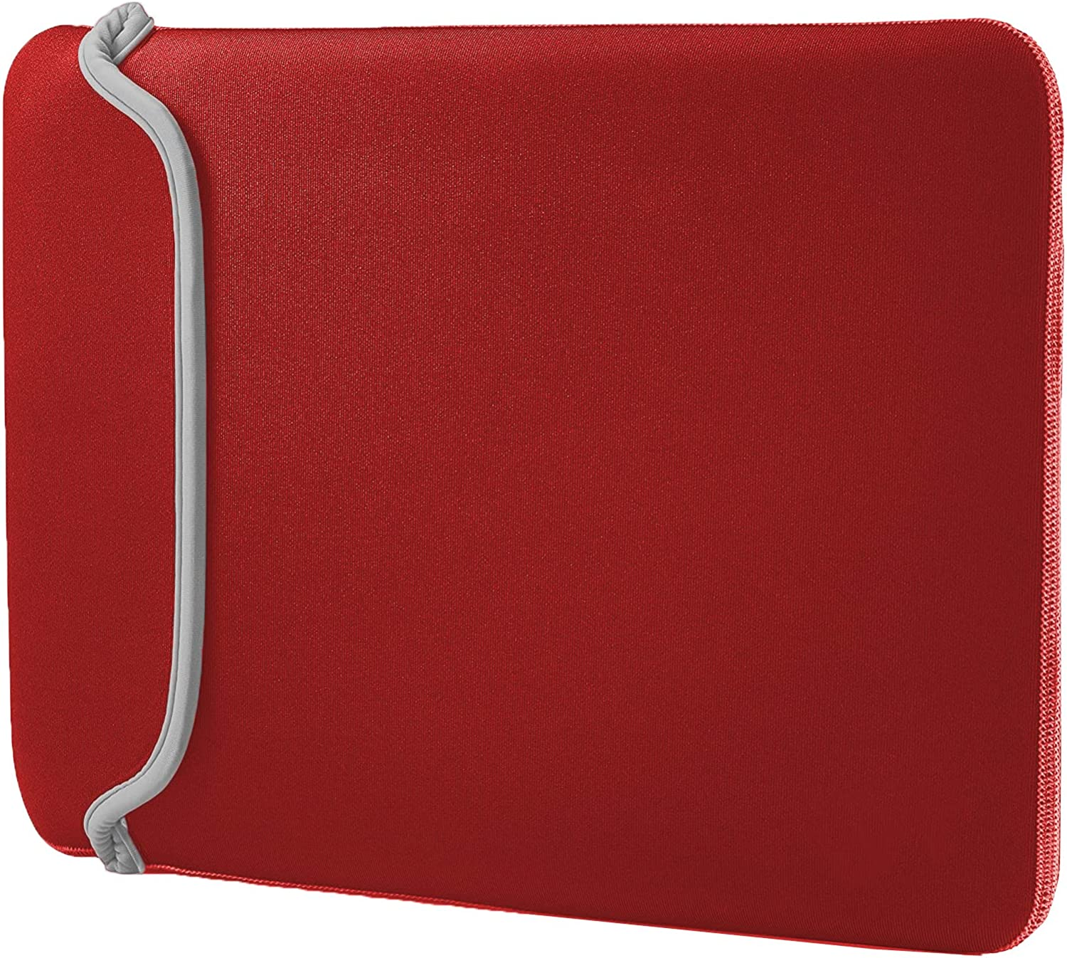 Red Fuschia Protective Neoprene Tablet & Laptop Two Color Sleeve Shockproof Cover for 14