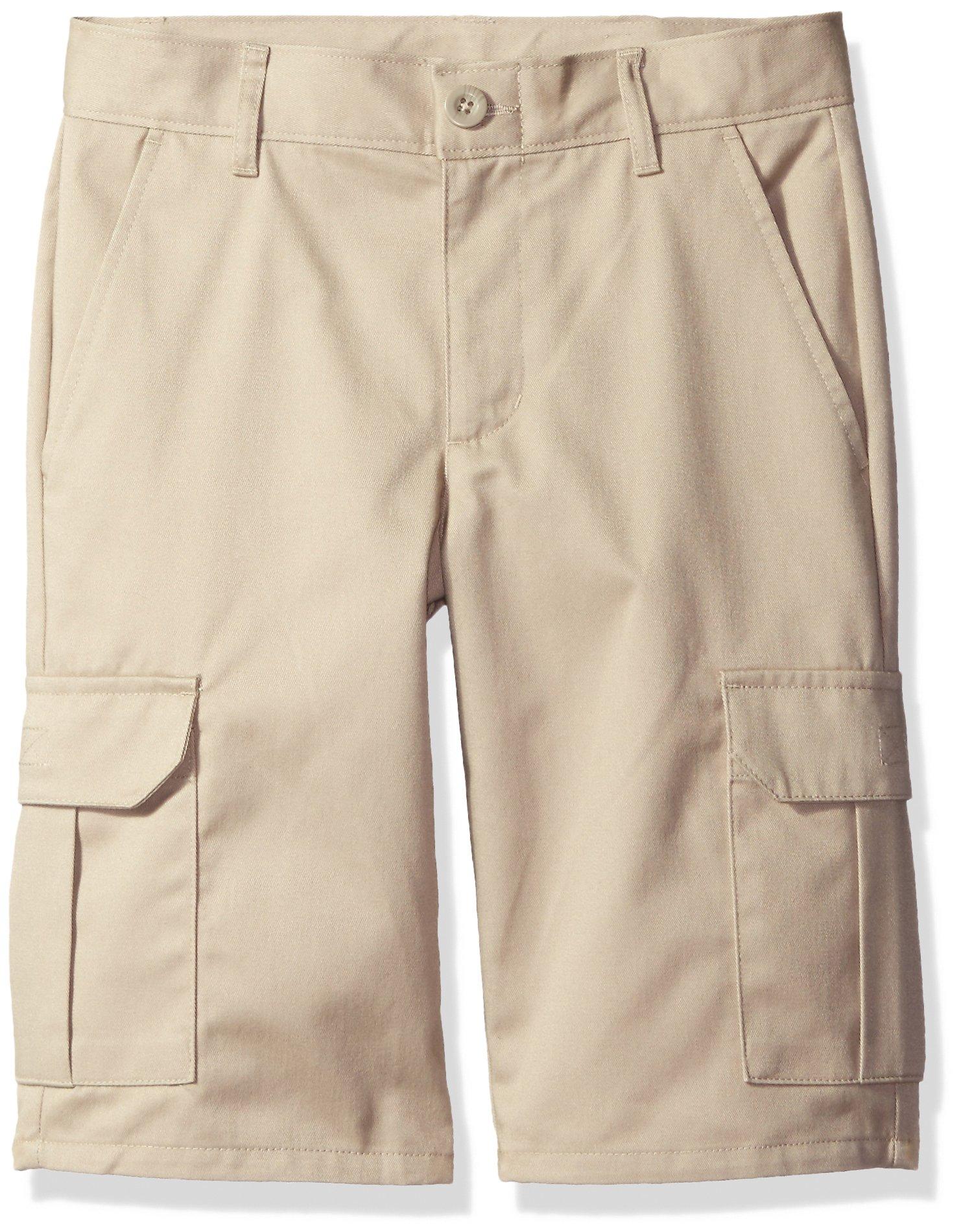 Dockers Big Boys Uniform Cargo Short, Khaki, 18
