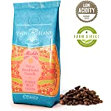 """""""Mishta"""" Whole Beans Coffee - Medium Roast - Single Origin Cold Brew Indian Gourmet AAA Monsooned Malabar Speciality Coffee by Seven Beans Coffee Company"""